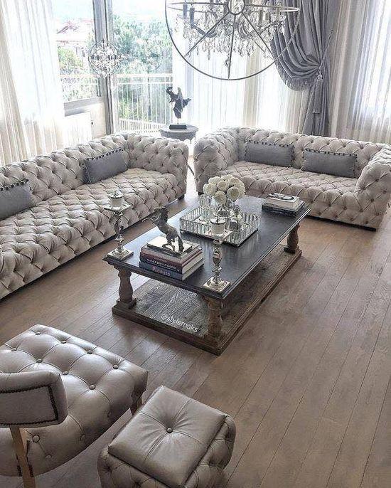 meubles luxes de salon